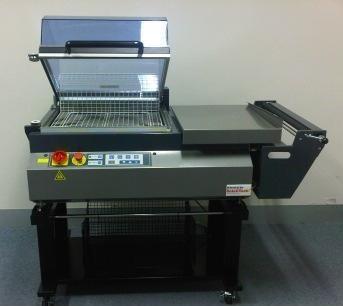bench top pvc shrink machine